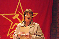 Ella Rule Vice Chairman CPGB-ML uses the occassion of Kim Il-sung's birth Commemoration to comment on Kim Il-sung's contribution to Marxism Leninism and part he played in the Korean liberation The event was attended by Mr. Hyon Hak Bong Ambassador to UK of the DPR Korea Saklatvala Hall Southall 14th April 2013.
