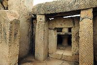 megalithischerTempel Mnajdra, Malta, Europa, Unesco-Weltkulturerbe