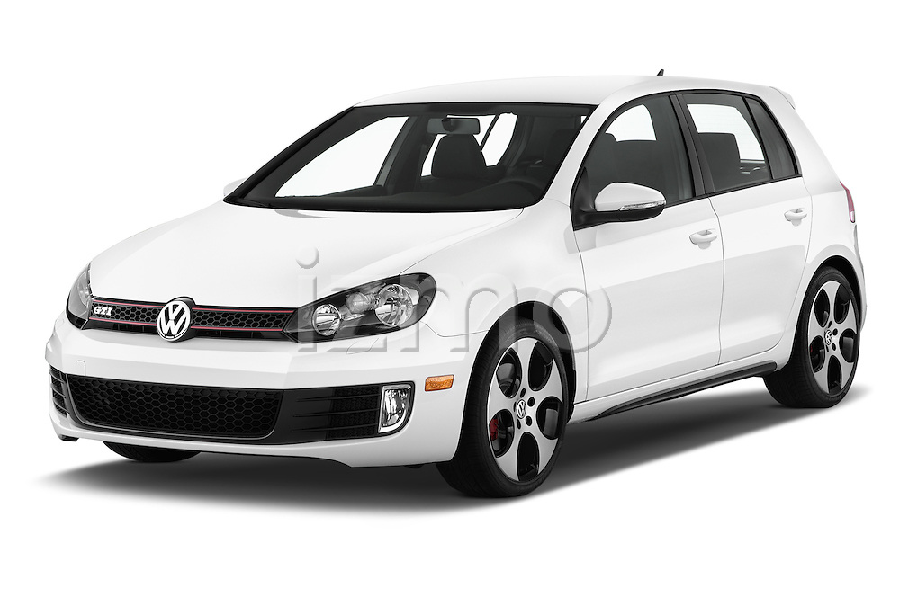 Front three quarter view of a 2013 Volkswagen GTI 4 Door hatchback2013 Volkswagen GTI 4 Door hatchback
