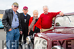 Enjoying the Threshing Festival and Vintage Rally at Blennerville Windmill on Sunday were  l-r  Dan Linear,Castlemaine, Nick Berry, Lisselton, Noreen O'Keeffe, Tralee and Jerry O'Keeffe, Tralee.