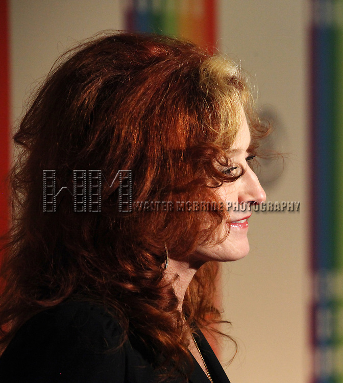 Bonnie Raitt attending the 35th Kennedy Center Honors at Kennedy Center in Washington, D.C. on December 2, 2012