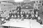 Gaelscoil Faithleann Killarney in the 1990's.<br /> Photo Don MacMonagle