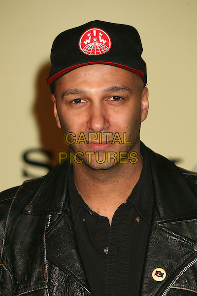 ZACK DE LA ROCHA.Sony / BMG 2007 GRAMMY Awards After Party at the Beverly Hills Hotel, Beverly Hills, California, USA..February 11th, 2007.headshot portrait black baseball cap hat.CAP/ADM/BP.©Byron Purvis/AdMedia/Capital Pictures