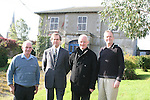 Barry Brennan and Eugene Conlon, Dunleer Community Development Board with Parish Priest, Fr. Michael Murtagh and Manager of Dunleer Credit Union, Thomas Fitzpatrick at Dunleer Parochial House...Photo NEWSFILE/Jenny Matthews.(Photo credit should read Jenny Matthews/NEWSFILE)....This Picture has been sent you under the condtions enclosed by:.Newsfile Ltd..The Studio,.Millmount Abbey,.Drogheda,.Co Meath..Ireland..Tel: +353(0)41-9871240.Fax: +353(0)41-9871260.GSM: +353(0)86-2500958.email: pictures@newsfile.ie.www.newsfile.ie.FTP: 193.120.102.198.