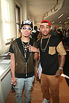 Black Fitted and Chris -Mercedes-Benz Fashion Week-2013 Galindo Collection Presented by Mohawk Group, NY  9/13/12
