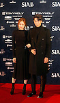 Lee Sung-Kyoung and  Nam Ju-Hyuck, Oct 28, 2014 : South Korean models Lee Sung-Kyoung (L) and Nam Ju-hyuck pose before the 2014 Style Icon Awards (SIA) in Seoul, South Korea. The SIA is a style and culture festival. (Photo by Lee Jae-Won/AFLO) (SOUTH KOREA)