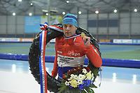 SCHAATSEN: GRONINGEN: 01-01-2019, Sportcentrum Kardinge, NK Marathon, Arjan Stroetinga, ©foto Martin de Jong