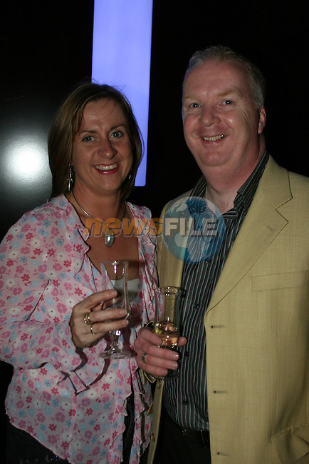 Fiachra and Eimear McHugh at the re-opening of Earth Nightclub at the Westcourt Hotel...Photo NEWSFILE/Jenny Matthews.(Photo credit should read Jenny Matthews/NEWSFILE)....This Picture has been sent you under the condtions enclosed by:.Newsfile Ltd..The Studio,.Millmount Abbey,.Drogheda,.Co Meath..Ireland..Tel: +353(0)41-9871240.Fax: +353(0)41-9871260.GSM: +353(0)86-2500958.email: pictures@newsfile.ie.www.newsfile.ie.FTP: 193.120.102.198.