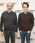 Daniel Sullivan, Steven Levenson attend the 'If I Forget' cast photocall at the Roundabout Rehearsal Studios on January 12, 2017 in New York City.