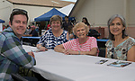 Nate Howell, Betsy Marler, Carolyn Howell and Pam Ames during the  Greek Festival held at the St. Anthony's Greek Orthodox Church in Reno, Nevada on Friday, August 18, 2017.