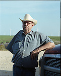 Cliff Etheridge in Roscoe, Texas organized the 2nd largest windfarm in the world.