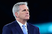 Washington, DC - March 21, 2016: House Majority Leader Kevin McCarthy participates in a panel discussion during the AIPAC Policy Conference at the Verizon Center in the District of Columbia, March 21, 2016.  (Photo by Don Baxter/Media Images International)