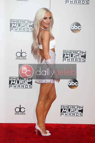 Gigi Gorgeous<br /> at the 2016 American Music Awards, Microsoft Theater, Los Angeles, CA 11-20-16<br /> David Edwards/DailyCeleb.com 818-249-4998