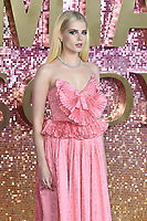 "LONDON, UK. October 23, 2018: Lucy Boynton at the world premiere of ""Bohemian Rhapsody"" at Wembley Arena, London.<br /> Picture: Steve Vas/Featureflash"