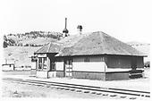 D&amp;RGW Sargent depot.<br /> D&amp;RGW  Sargent, CO