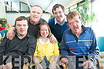 Students<br /> ----------<br /> enjoying the launch of the Latch-On post graduate course at the IT Tralee last Friday afternoon were(front)L-R Brendan O'Sullivan(Listowel)Denise Mahony&amp;Alan Murrey both Tralee(back)L-R Mark Bolger(Tralee)and Phillip Fitzmaurice(Ardfert)