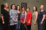 Ger Donegan, Maeve Connell, Georgina Boyle, Joan Courtney, Olwyn Branigan, Trudy Taaffee, Anette Branigan Holt at the Charity Event in the Boyne Valley Hotel to raise money for Drogheda Womens Refuge, Drogheda Special Needs and ABACAS...(Photo credit should read Jenny Matthews/www.newsfile.ie)....This Picture has been sent you under the conditions enclosed by:.Newsfile Ltd..The Studio,.Millmount Abbey,.Drogheda,.Co Meath..Ireland..Tel: +353(0)41-9871240.Fax: +353(0)41-9871260.GSM: +353(0)86-2500958.email: pictures@newsfile.ie.www.newsfile.ie.