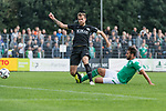 08.09.2018, pk-Sportpark, Cloppenburg, GER, FSP, SV Meppen vs Werder Bremen <br /> <br /> DFL REGULATIONS PROHIBIT ANY USE OF PHOTOGRAPHS AS IMAGE SEQUENCES AND/OR QUASI-VIDEO.<br /> <br /> im Bild / picture shows<br /> Claudio Pizarro (Werder Bremen #04) mit Torschuss und Treffer zum 0:1, <br /> <br /> Foto &copy; nordphoto / Ewert