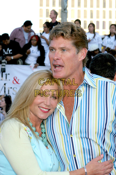 "DAVID HASSELHOFF.""Mr. & Mrs. Smith"" World Premiere held at Mann Village Theatre, Hollywood, CA, USA, 7th June 2005..half length hasslehoff.Ref: ADM.www.capitalpictures.com.sales@capitalpictures.com.©Jacqui Wong/AdMedia/Capital Pictures."