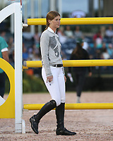 WELLINGTION, FL - FEBRUARY 09: SATURDAY NIGHT LIGHTS: Jennifer Gates (Bill Gates' daughter) participates in Class 101 - FEI CSI5* $391,000 Fidelity Investments Grand Prix where the winner was Martin Fuchs (Swiss) second place was Kent Farrington (USA) and third was Conor Swail (IRE). The Winter Equestrian Festival (WEF) is the largest, longest running hunter/jumper equestrian event in the world held at the Palm Beach International Equestrian Center on February 09, 2019  in Wellington, Florida.<br /> People:  Jennifer Gates <br /> CAP/MPI122<br /> &copy;MPI122/Capital Pictures