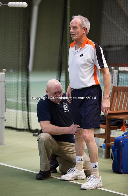 Hilversum, The Netherlands, 05.03.2014. NOVK ,Nat.Indoor Veterans Championships of 2014<br /> Photo:Tennisimages/Henk Koster