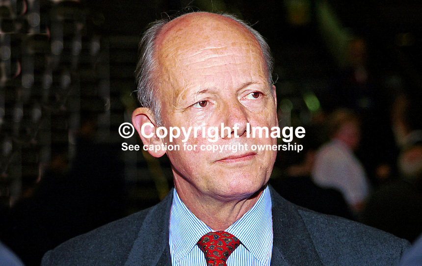Gebhardt Von Moltke, German Ambassador to Britain, UK, Ref:199909191..Taken at Labour Party  Annual Conference - Bournemouth, England during September 99...Copyright Image from Victor Patterson, 54 Dorchester Park, Belfast, UK, BT9 6RJ..Tel: +44 28 9066 1296.Mob: +44 7802 353836.Voicemail +44 20 8816 7153.Skype: victorpattersonbelfast.Email: victorpatterson@mac.com.Email: victorpatterson@ireland.com (back-up)..IMPORTANT: If you wish to use this image or any other of my images please go to www.victorpatterson.com and click on the Terms & Conditions. Then contact me by email or phone with the reference number(s) of the image(s) concerned.