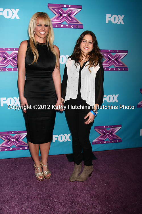 .LOS ANGELES - DEC 17:  Britney Spears, Carly Rose Sonenclar at the 'X Factor' Season Finale Press Conference at CBS Television City on December 17, 2012 in Los Angeles, CA