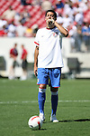 United States' Clint Dempsey drinks some water during pregame warmups on Sunday, March 25th, 2007 at Raymond James Stadium in Tampa, Florida. The United States Men's National Team defeated Ecuador 3-1 in a men's international friendly.