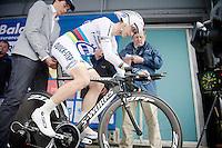 Tour of Belgium 2013.stage 3: iTT..World Champion Tony Martin (DEU).