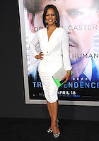 Garcelle Beauvais-Nilon at the Los Angeles premiere of &quot;Transcendence&quot; at the Regency Village Theatre, Westwood.<br /> April 10, 2014  Los Angeles, CA<br /> Picture: Paul Smith / Featureflash