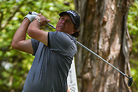 Phil Mickelson (USA) watches his tee shot on 16 during round 3 of the World Golf Championships, Mexico, Club De Golf Chapultepec, Mexico City, Mexico. 2/23/2019.<br /> Picture: Golffile | Ken Murray<br /> <br /> <br /> All photo usage must carry mandatory copyright credit (© Golffile | Ken Murray)