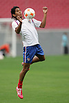 10 March 2008: . The Panama U-23 Men's National Team practiced at Raymond James Stadium in Tampa, FL in preparation for playing in the 2008 CONCACAF's Men's Olympic Qualifying Tournament.