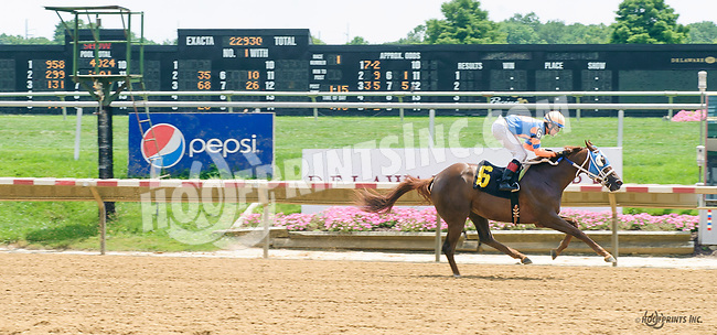 Analyzeyurspending winning at Delaware Park on 7/10/17