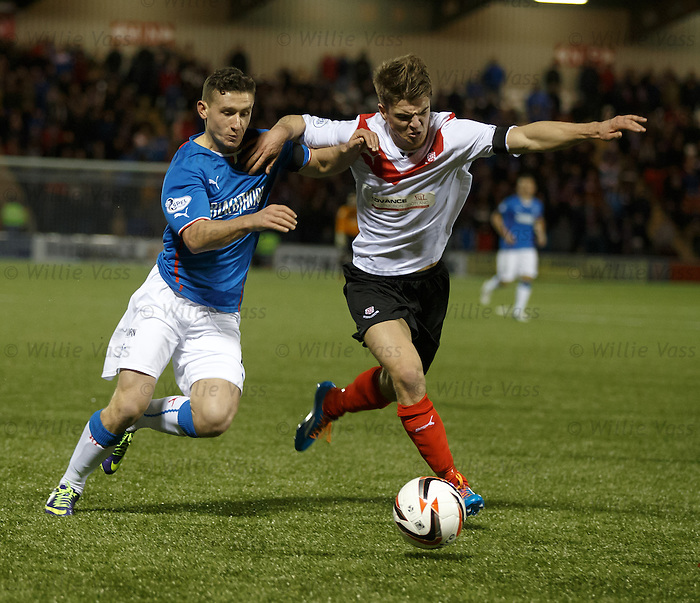 Fraser Aird and Ross Gilmour
