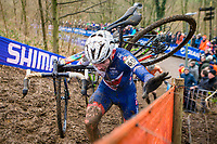 Picture by Alex Whitehead/SWpix.com - 04/02/2018 - Cycling - 2018 UCI Cyclo-Cross World Championships - Valkenburg, The Netherlands - Great Britain's Dan Tulett in action during the Men's U23 race.