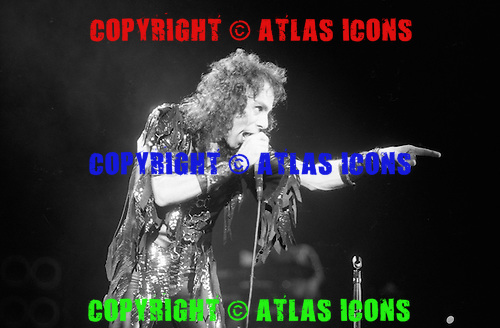 Ronnie James Dio 1986.Photo Credit : David Plastik /Atlasicons.com
