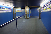 Spielertunnel - 22.08.2019: Racing Straßburg vs. Eintracht Frankfurt, UEFA Europa League, Qualifikation, Commerzbank Arena<br /> DISCLAIMER: DFL regulations prohibit any use of photographs as image sequences and/or quasi-video.