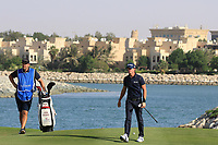 Sean Crocker (USA) during the final round of the Ras Al Khaimah Challenge Tour Grand Final played at Al Hamra Golf Club, Ras Al Khaimah, UAE. 03/11/2018<br /> Picture: Golffile | Phil Inglis<br /> <br /> All photo usage must carry mandatory copyright credit (&copy; Golffile | Phil Inglis)