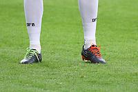 Jerome Boateng (Deutschland Germany) mit verschiedenen Farben bei den Schnürsenkeln - 26.03.2018: Abschlusstraining der Deutschen Nationalmannschaft, Olympiastadion Berlin