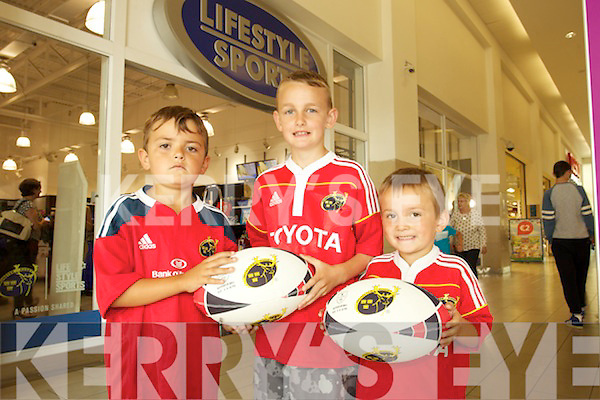 c281a5a671114 Munster Rugby Players visit Lifestyle Sports in Manor Tralee on Thursday -  Young Fans Luke Henderson