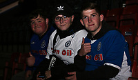 Fans pre match <br /> <br /> Photographer Juel Miah/CameraSport<br /> <br /> EFL Checkatrade Trophy - Northern Section Group C - Rochdale v Stoke City U23s - Tuesday 3rd October 2017 - Spotland Stadium - Rochdale<br />  <br /> World Copyright &copy; 2018 CameraSport. All rights reserved. 43 Linden Ave. Countesthorpe. Leicester. England. LE8 5PG - Tel: +44 (0) 116 277 4147 - admin@camerasport.com - www.camerasport.com