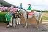 Calvello winning at Delaware Park on 9/12/15