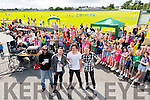 Q14 Rock  at the NA GAEIL GAA, family fun day on Sunday