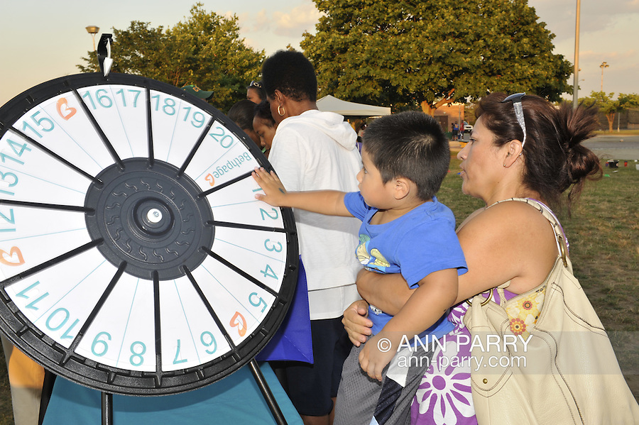 National Night Out at Cow Meadow Part and Preserve, at Freeport, New York, USA, on August 2, 2011, editorial