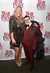 Bridget Everett and Murray Hill attend the Broadway Opening Night Performance of 'War Paint' at the Nederlander Theatre on April 6, 2017 in New York City