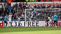 Pictured: Ashley Williams of Swansea City in action. Saturday 17 September 2011<br /> Re: Premiership football Swansea City FC v West Bromwich Albion at the Liberty Stadium, south Wales.