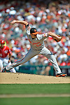 20 May 2012: Baltimore Orioles pitcher Darren O'Day on the mound against the Washington Nationals at Nationals Park in Washington, DC. The Nationals defeated the Orioles 9-3 to salvage the third game of their 3-game series. Mandatory Credit: Ed Wolfstein Photo