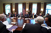 United States President Donald J. Trump holds a cabinet meeting at the White House on November 20, 2017 in Washington, D.C. President Trump officially designated North Korea as a state sponsor of terrorism. <br /> Credit: Kevin Dietsch / Pool via CNP