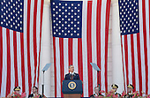 United States President Barack speaks during a Memorial Day event at Arlington National Cemetery, May 25, 2015 in Arlington, Virginia.<br /> Credit: Olivier Douliery / Pool via CNP