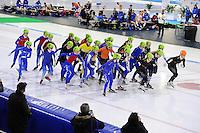 SCHAATSEN: HEERENVEEN: 05-02-2017, KPN NK Junioren, Junioren B Mass Start, ©foto Martin de Jong